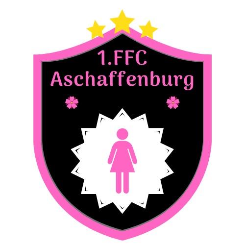 Vereinswappen der Damenmannschaft des 1. FFC Aschaffenburg Frauenfußballclub.